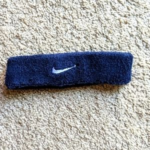 🧡(Nike) women's headband - navy